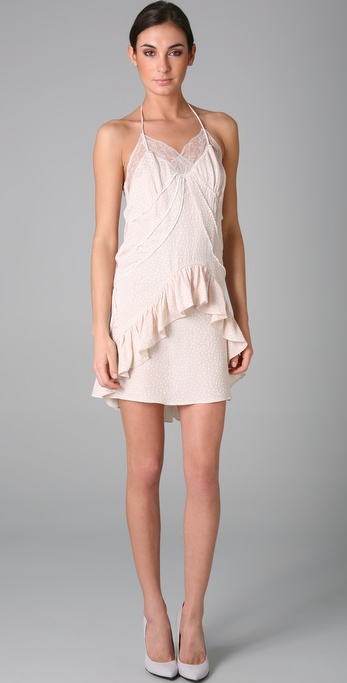 Preen By Thornton Bregazzi Bardot Slip Dress