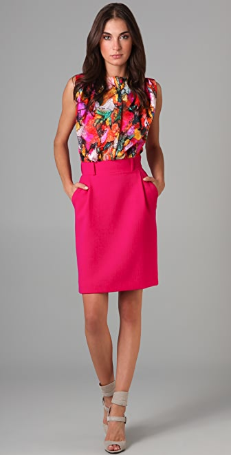 Preen By Thornton Bregazzi Leaf Dress