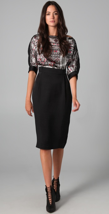 Preen By Thornton Bregazzi Tibet Dress