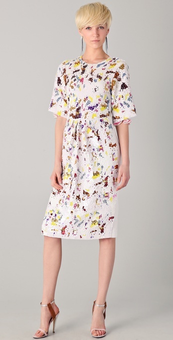 Preen By Thornton Bregazzi Sequined Matilda Dress