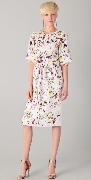 Preen By Thornton Bregazzi Sequined Matilda Dress