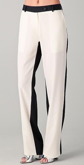 Preen By Thornton Bregazzi Contrast Boy Pants