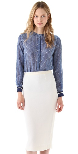 Preen Diamond Blouse