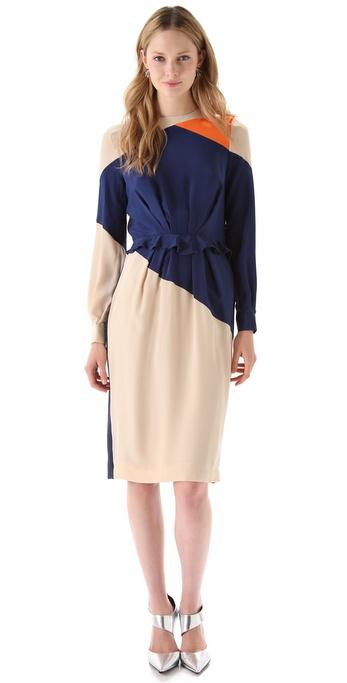 Preen By Thornton Bregazzi Rhombus Dress