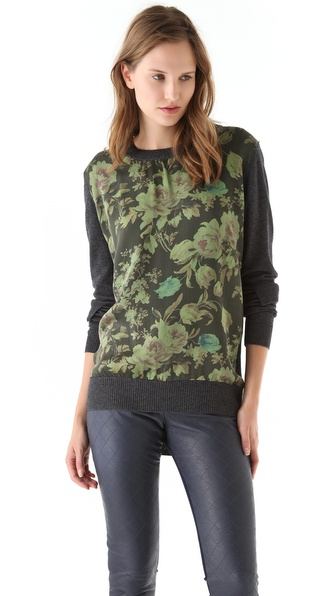 Preen Preen Line Sweater with Panel