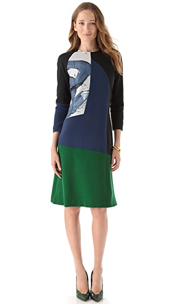 Preen By Thornton Bregazzi Splash Dress