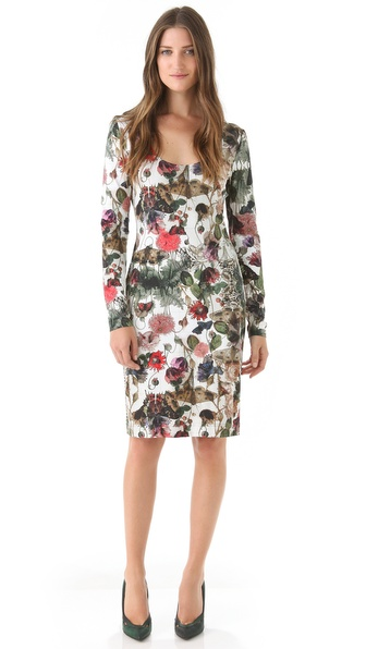 Preen Print Jersey Dress