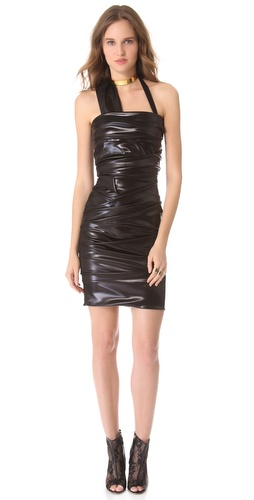 Preen Wet Ripple Dress