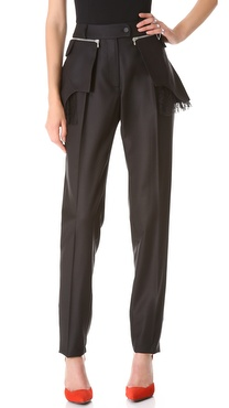 Preen By Thornton Bregazzi Tin Pants with Flap