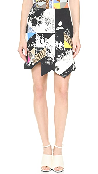 Preen By Thornton Bregazzi Quilt Skirt