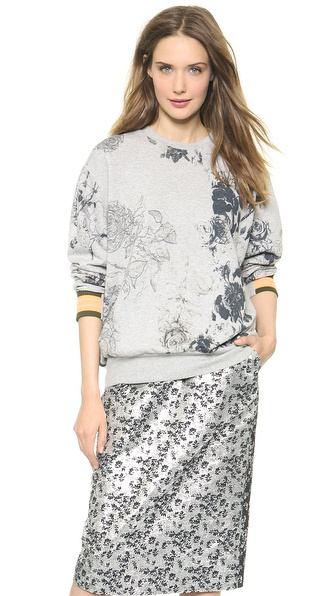 Preen By Thornton Bregazzi Tile Sweatshirt