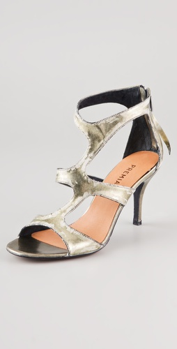 Premiata Jack Asymmetrical Sandals