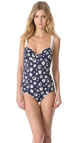 Pret-a-Surf Floral One Piece Swimsuit