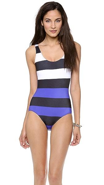Pret-a-Surf Colorblock One Piece Swimsuit
