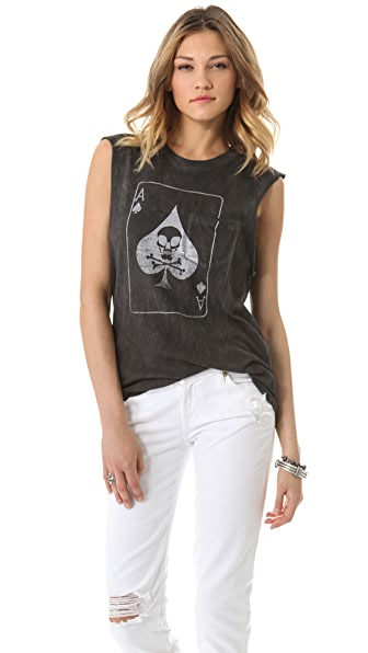 Prince Peter Spaded Distressed Tank
