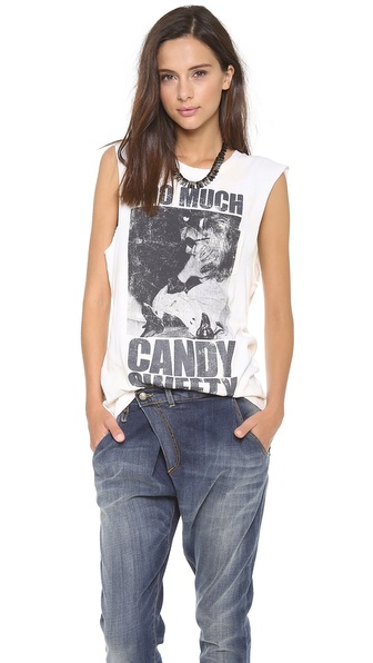 Prince Peter Candy Cut Off Tank