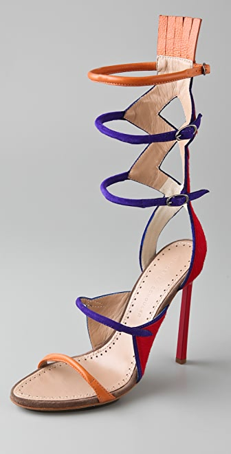 Proenza Schouler Multicolor High Heel Sandals