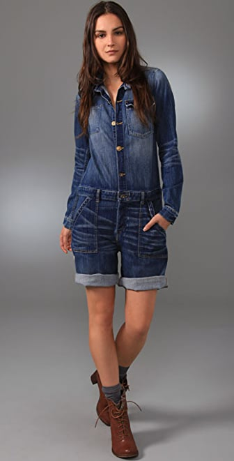 PRPS Heirloom Denim Coveralls