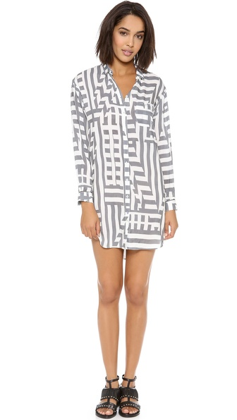 Paul Smith Black Label Oversized Shirtdress