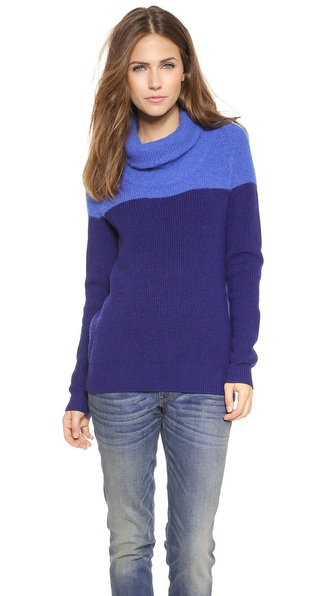 Paul Smith Black Label Angora Bi-Color Sweater