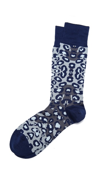Paul Smith Leopard Socks
