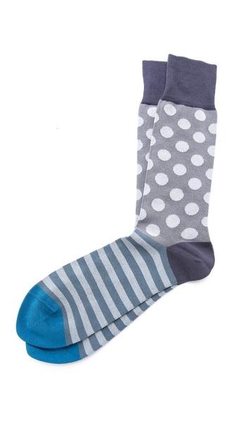 Paul Smith Block Polka Socks