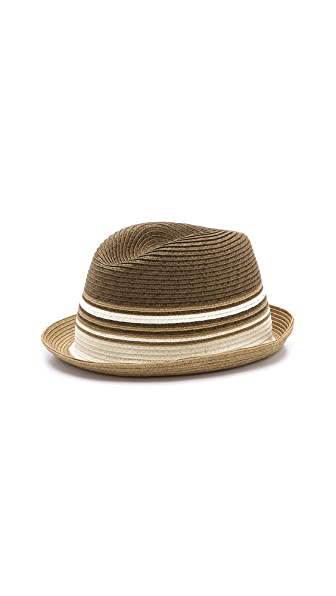 Paul Smith Spiral Striped Hat