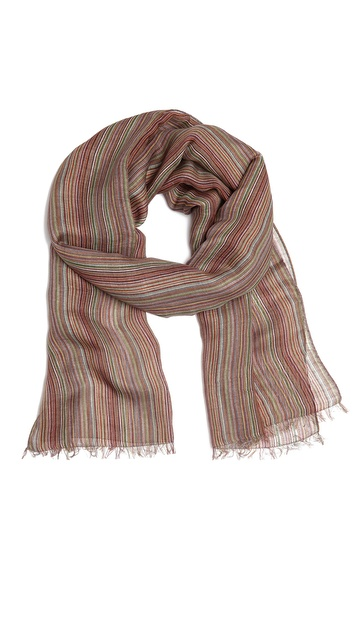 Paul Smith Summer Multi Stripe Scarf