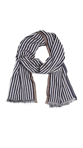 Paul Smith Two Stripe Scarf