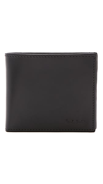Paul Smith Multi Stripe Billfold with Coin Pocket