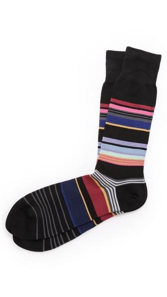 Paul Smith Stamp Stripe Socks