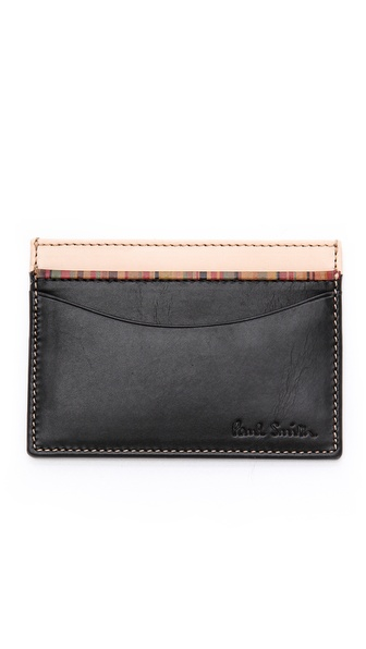 Paul Smith Multi-Stripe Card Holder