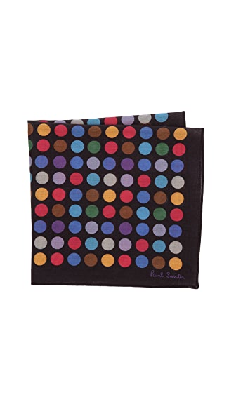 Paul Smith Polka Dot Pocket Square