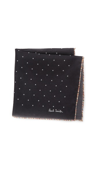 Paul Smith Mini Star Pocket Square