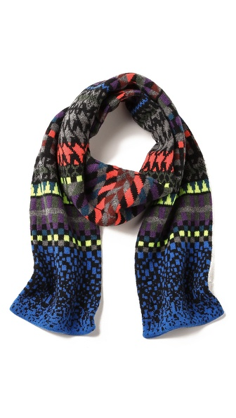 Paul Smith Fair Isle Scarf