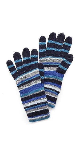 Paul Smith Multi-Stripe Gloves