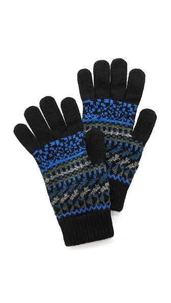 Paul Smith Fair Isle Gloves