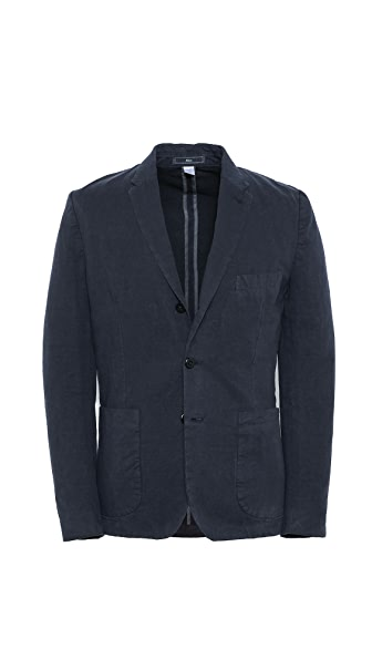 Paul Smith Jeans Rolling 3 Button Revere Jacket