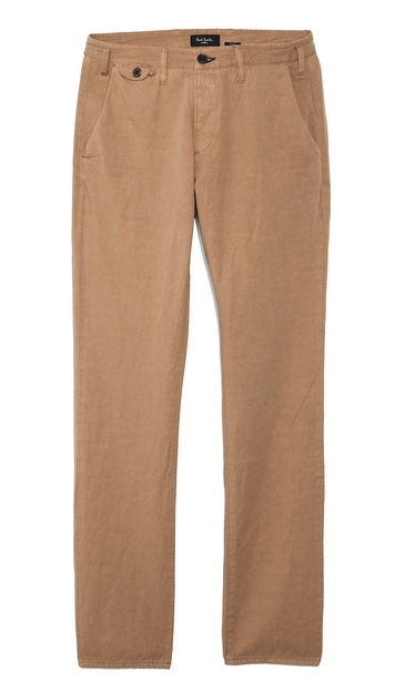 Paul Smith Jeans Slim Fit Trousers - Tan