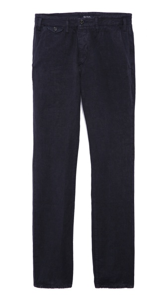 Paul Smith Jeans Slim Fit Trousers - Navy
