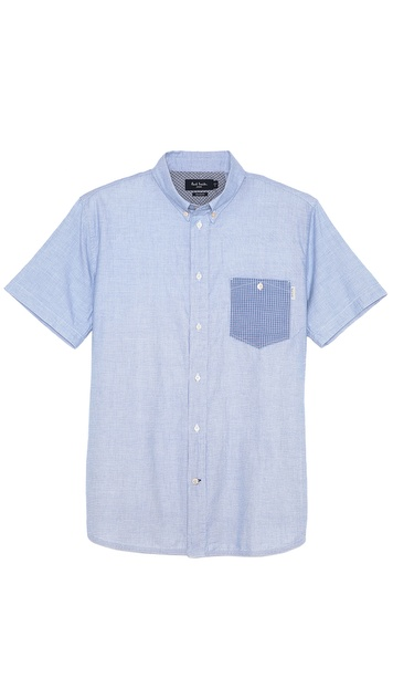 Paul Smith Jeans Short Sleeve Sport Shirt