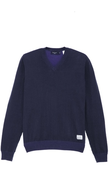 Paul Smith Jeans V Neck Sweater