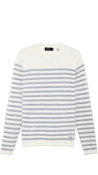 Paul Smith Jeans Crew Neck Stripe Sweater