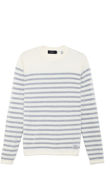 Paul Smith Jeans Crew Neck Stripe Sweater
