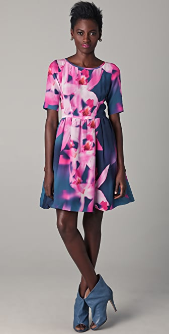 Peter Som Orchid Dress