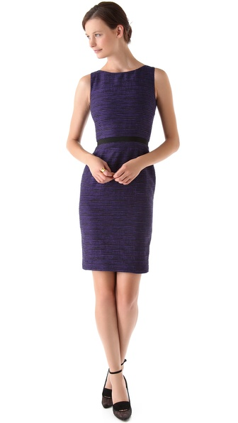 Peter Som Tweed Sheath Dress