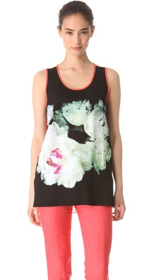 Peter Som Floral Tank