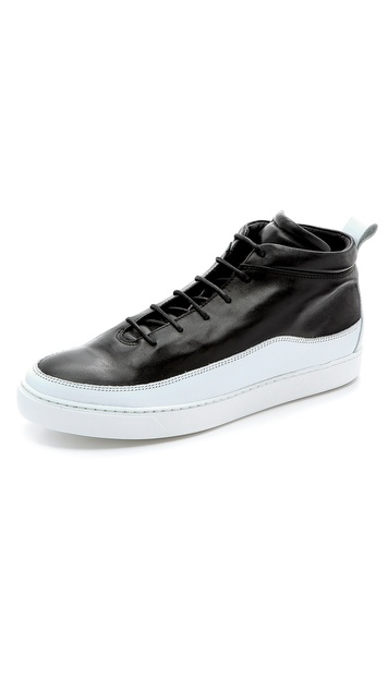 Public School Public School x The Generic Man Leather Sneakers