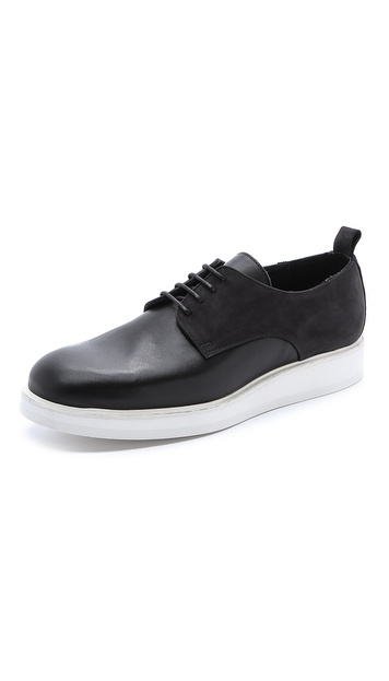 Public School Public School x The Generic Man Leather & Suede Sneakers