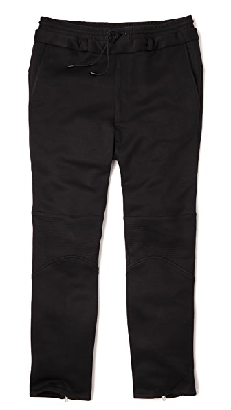 Public School Double Waistband Trapunto Pants